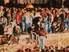 """9. November 1989"", 60x150cm,, Öl auf Leinwand, Diptychon, 2014 / 2015 (Ausschnitt)"
