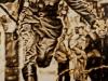 """""""Der Sprung"""", Öl auf Leinwand, 75x140 cm, 2017"""
