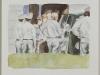 """""""Letzte Aufnahme"""", Aquarell, 20 x 30 cm, 2007"""