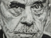 Thomas Mann, 80x80 cm, Öl auf Leinwand, 2018