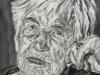 """Esther Bejarano"", Öl auf Leinwand, 110x80 cm, 2020"