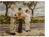 """""""Fernblicke"""" Öl auf Leinwand, 85 x 110 cm, 2014"""