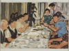 """""""Hochzeit, 1967"""", Öl auf Leinwand, 50x70cm, 2005"""