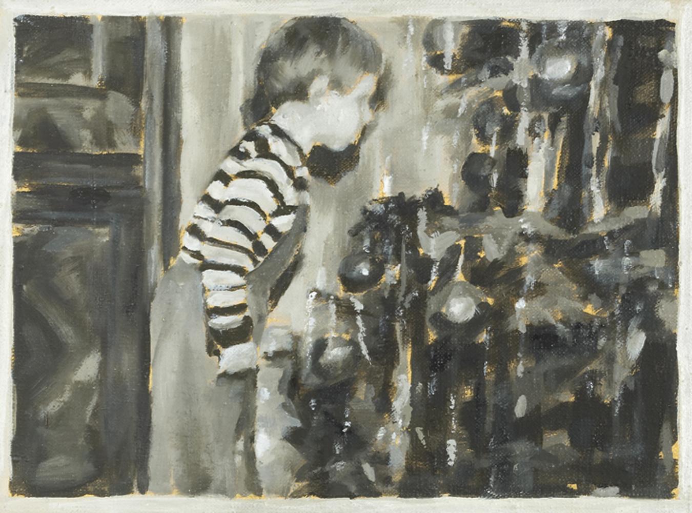 """""""Alex"""", Öl auf Nessel, 30 x 40 cm, 2001"""