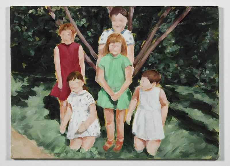 """""""Gill, 1965"""", Öl auf Leinwand, 50 x 70 cm, 2004"""