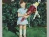 """""""Erster Schultag, 1968"""", Öl auf Leinwand, 30 x 30 cm, 2002"""