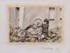 """""""Fahrradreparatur auf dem Stockert"""", Öl auf Leinwand, 40x50cm, 2014"""