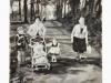 """""""Knechtsteden 1963"""", Öl auf Leinwand, 40x40 cm, 2015"""