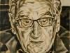 """""""Egon Bahr"""", Öl auf Leinwand, 60 x 50 cm, 2016"""