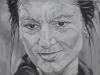 """Sarah Wagenknecht"", Öl auf Leinwand, 60x90 cm, 2019"