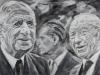 """""""Französische Freundschaft"""", Öl auf Leinwand, 80x120 cm, 2018"""