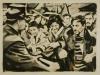 """""""Eskalation, 1967"""", Öl auf Leinwand, 65 x 85 cm, 2014"""