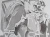 """""""Andreas Baader"""", Aquarell, 38x52, 2013, Ausschnitt"""