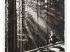 """""""Junge im Wald, 1936"""" aus der Serie """"Klaus"""", Öl auf Leinwand, 100 x 70 cm, 2012"""