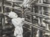 """""""Klaus, ländliches Idyll"""", Öl auf Leinwand, 62x45 cm, 2011"""