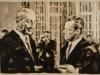 """""""Im Kanzleramt"""", Öl auf Leinwand, 55x75 cm, 2011/15"""