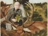 """""""Letzte Äsung"""", Öl auf Leinwand, 80x80 cm, 2006"""
