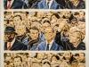 """""""Trauermarsch"""", Öl auf Leinwand, 170x110, 2016"""