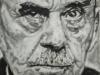 """Thomas Mann"", 80x80 cm, Öl auf Leinwand, 2018"