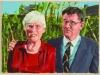 """""""Edith und Bruno Hauser"""", Öl auf Leinwand, 50 x 70 cm, 2004"""