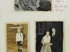 """Fotoalbumseite"", Öl auf Nessel, 40 x 30 cm, 2002"