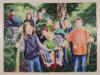 """""""Ausflug an Himmelfahrt"""", Öl auf Leinwand, 110x140cm, 2006"""