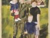 """""""Blick auf Thranenweiher"""", Öl auf Leinwand, 30x20 cm, 2009"""